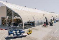 Tesla multada por problemas de seguridad en la carpa donde fabrican el Model 3