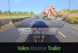 Valeo presenta la espectacular tecnología del remolque invisible