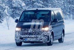El Volkswagen Transporter T6 facelift ya está realizando pruebas de carretera