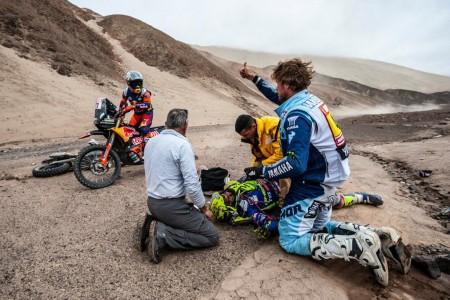 Dakar 2019, etapa 6: Tanaka puede con Santolino y Calleja