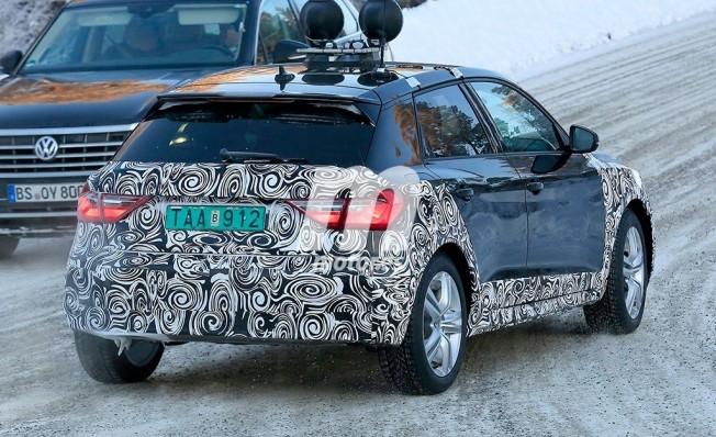 Audi A1 City Carver - foto espía posterior