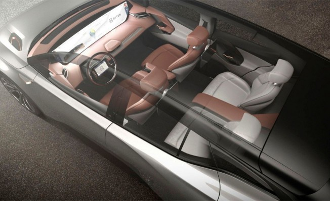 Byton M-Byte Concept - interior