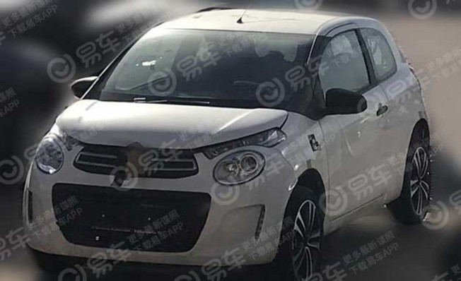 Citroën C1 - foto espía en China