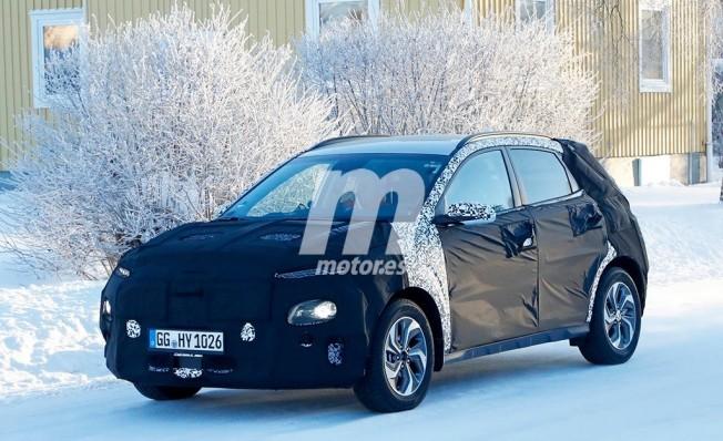 Hyundai Kona Híbrido - foto espía
