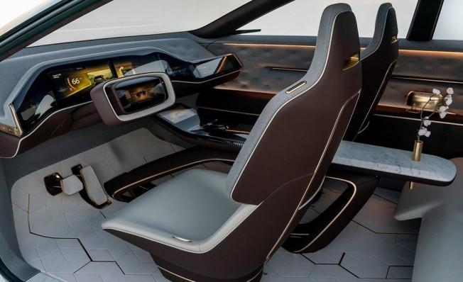 Infiniti QX Inspiration Concept - interior