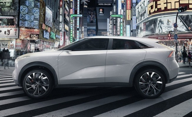 Infiniti QX Inspiration Concept - lateral