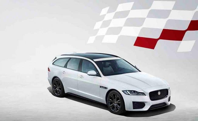 Jaguar XF Sportbrake Chequered Flag Edition
