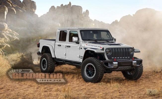 Recreación del Jeep Gladiator Hércules