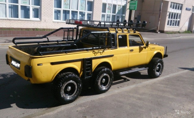 Lada Niva 6x6 Pick-up