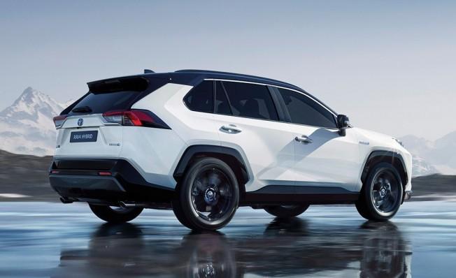 Toyota RAV4 Hybrid 2019 - posterior