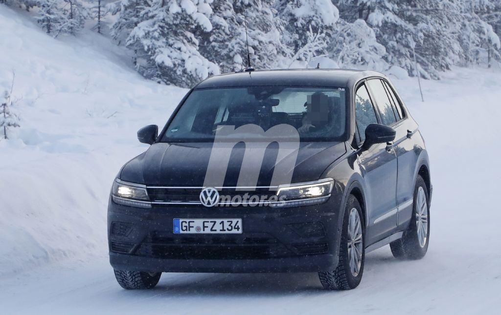 Volkswagen comienza las pruebas del futuro ID. Crozz con una mula basada en el Tiguan