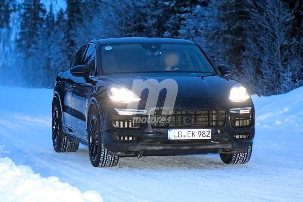 Cazamos al Porsche Cayenne Coupé Turbo durante sus pruebas de invierno