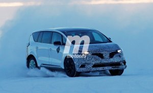 El nuevo Renault Espace 2020 vuelve a ser cazado en el norte de Europa