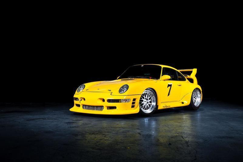 Uno de los raros y brutales RUF CTR2 Sport prototype de Pikes Peak a la venta