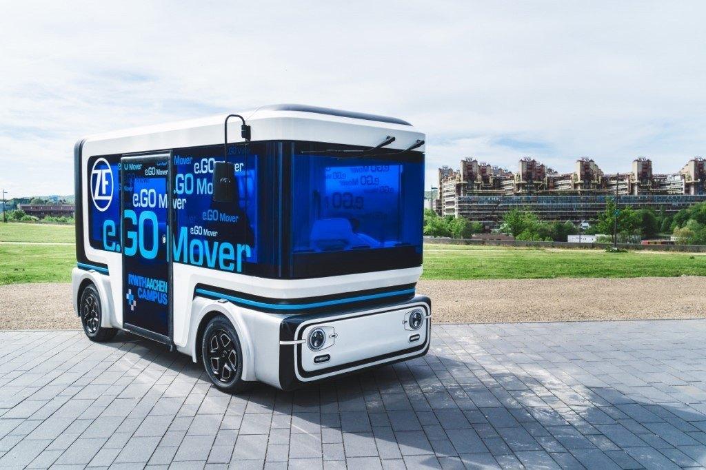 ZF e.GO Mover, la apuesta de movilidad autónoma compartida debuta en el CES 2019