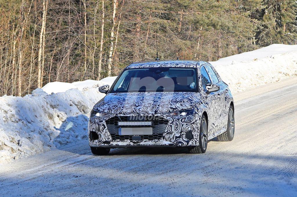 El nuevo Audi S3 2020 cazado de nuevo en la nieve