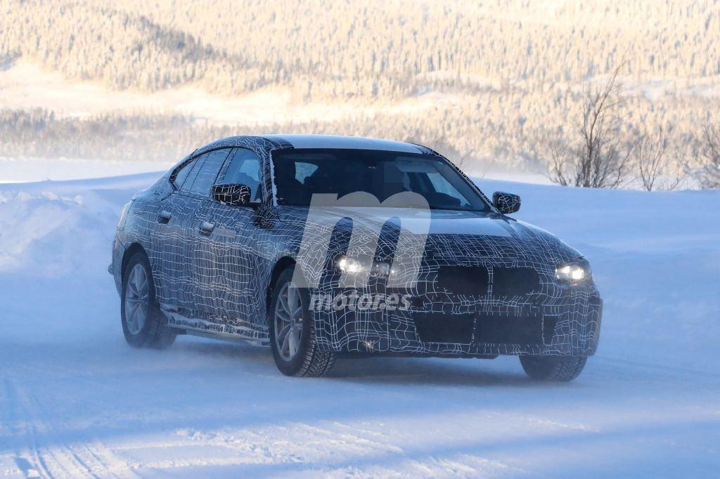 El futuro BMW i4 comienza sus primeras pruebas de invierno