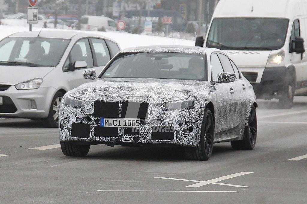La generación G80 del nuevo BMW M3 Berlina se destapa abreviando su desarrollo