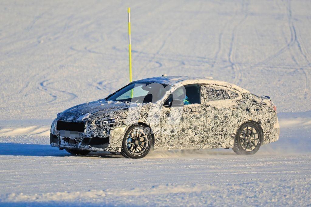El nuevo BMW Serie 2 Gran Coupé se somete a la segunda tanda de pruebas de invierno