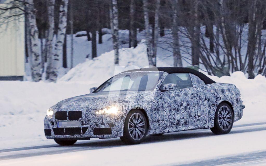 BMW comienza las pruebas de invierno del nuevo Serie 4 M440i Cabrio