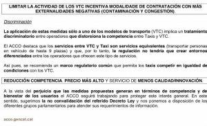 """El decreto """"anti VTC"""" de Cataluña es reversible"""