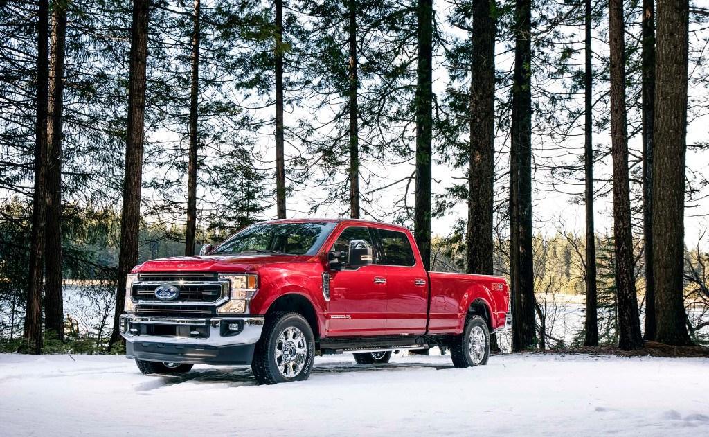 Ford presenta los nuevos F-Series Super Duty con nuevo V8 de 7.3 litros