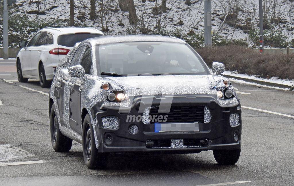 Las nuevas pruebas del nuevo B-SUV de Ford desvelan parte de su interior