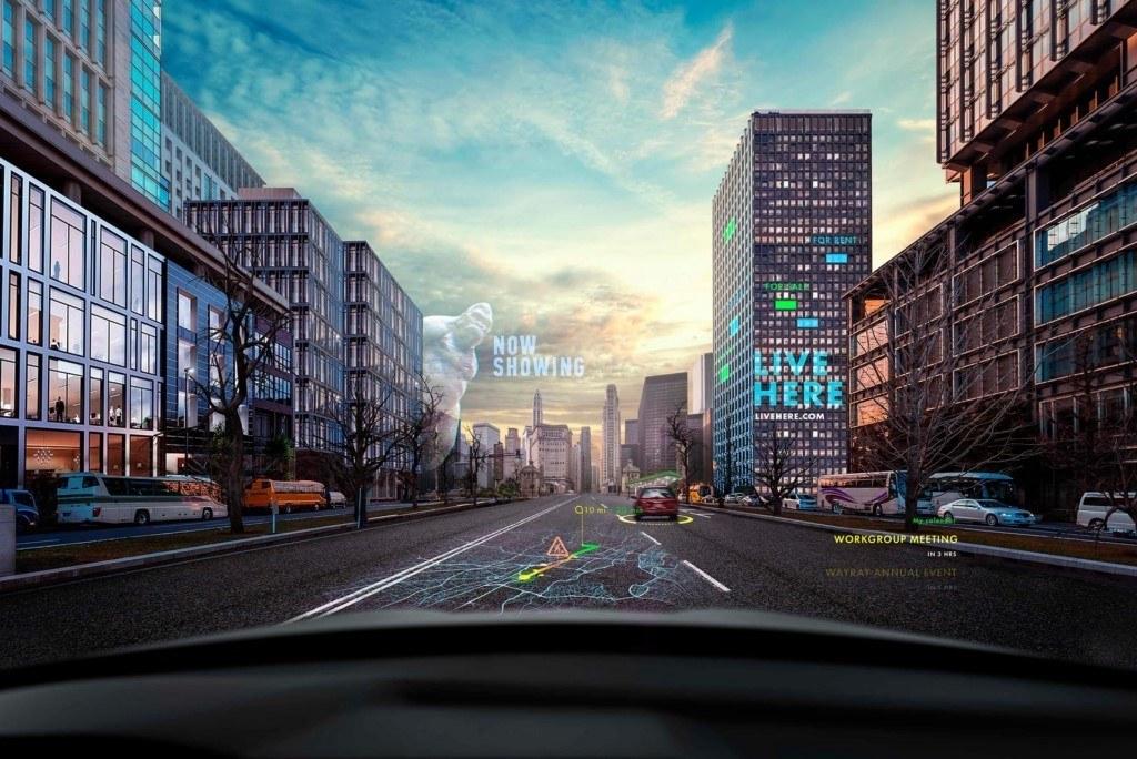 Hyundai y WayRay desarrollan un sistema de navegación con realidad aumentada