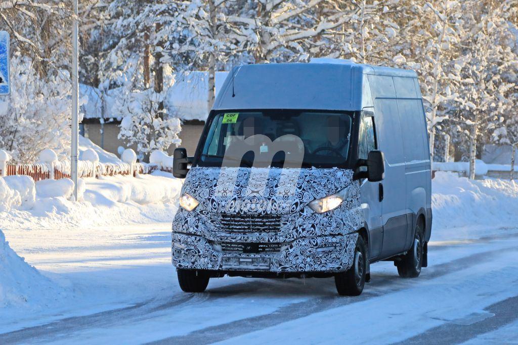El nuevo Iveco Daily 2020 cazado durante sus pruebas de invierno
