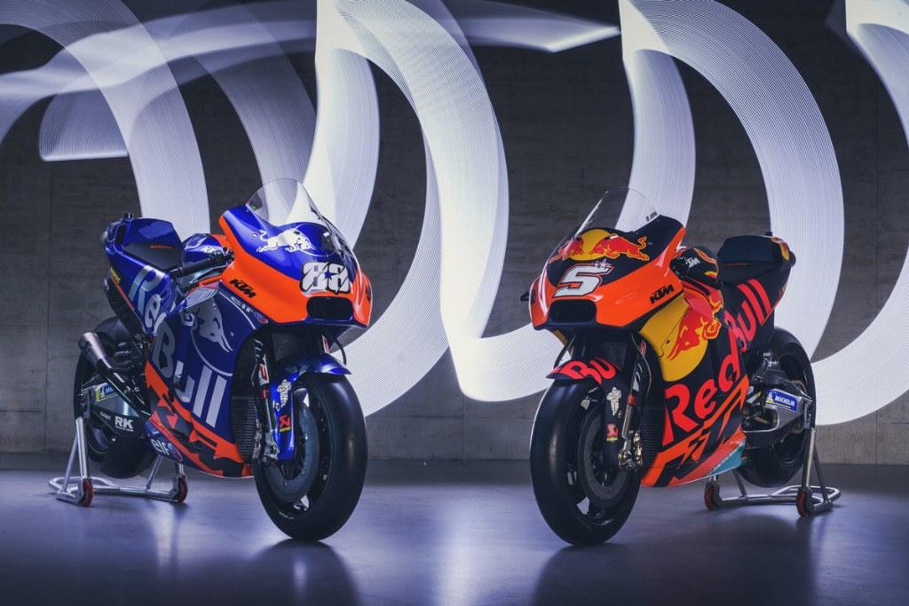 KTM Racing y Tech 3 presentan sus equipos de MotoGP