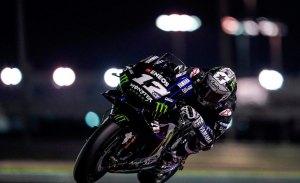 Maverick Viñales inicia el test de MotoGP en Qatar al frente