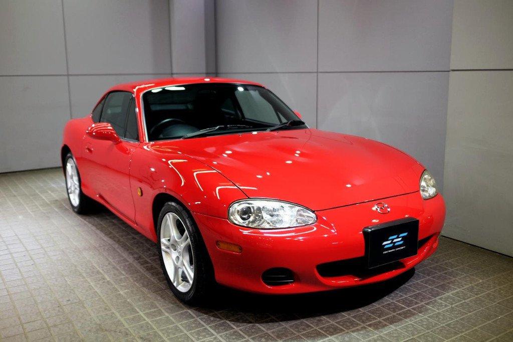 Uno de los raros Mazda MX-5 Coupé NB ha aparecido a la venta