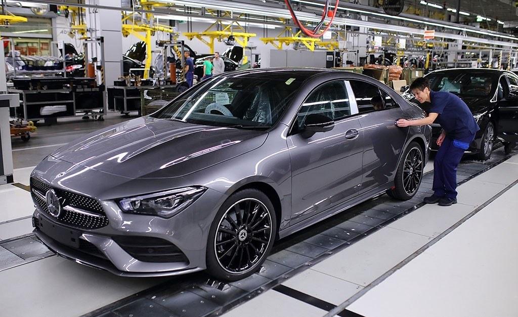 El nuevo Mercedes CLA inicia su producción en serie en Hungría