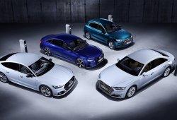 Audi presenta sus nuevos híbridos enchufables: Q5, A6, A7 y A8 se electrifican