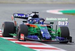 Día 2: análisis técnico de los test de F1 en Barcelona