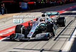 Día 5: análisis técnico de los test de F1 en Barcelona