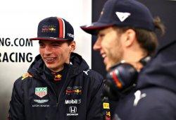 "Honda deja a Verstappen ""sonriendo"" tras los primeros kilómetros"