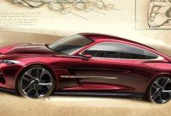 El nuevo modelo de Italdesign es un estilizado coupé de puertas gullwing