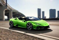 El nuevo Lamborghini Huracán EVO Spyder se destapa antes de tiempo