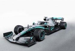 Mercedes desvela el W10 en Silverstone