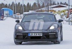 Porsche prueba una nueva versión del 718 Boxster equipada con un motor de seis cilindros