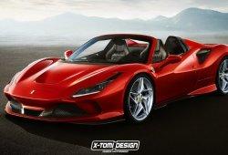 Así será el aspecto del futuro Ferrari F8 Spider