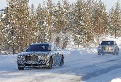 La nueva generación del Rolls-Royce Ghost se estrena en las pruebas de invierno