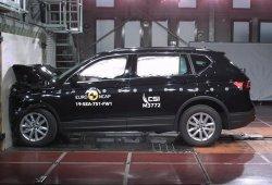 El SEAT Tarraco obtiene la máxima puntuación en las pruebas Euro NCAP
