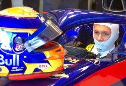 El Toro Rosso STR14 acumula sus primeros kilómetros en Misano