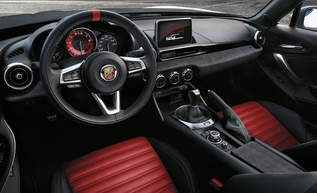 Abarth 124 Rally Tribute - interior