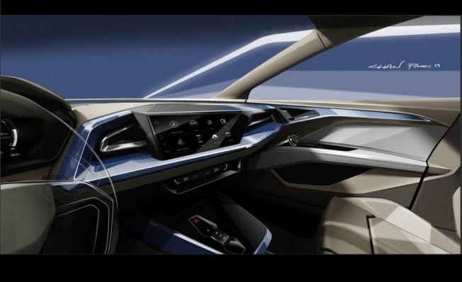 Audi Q4 e-tron Concept - interior