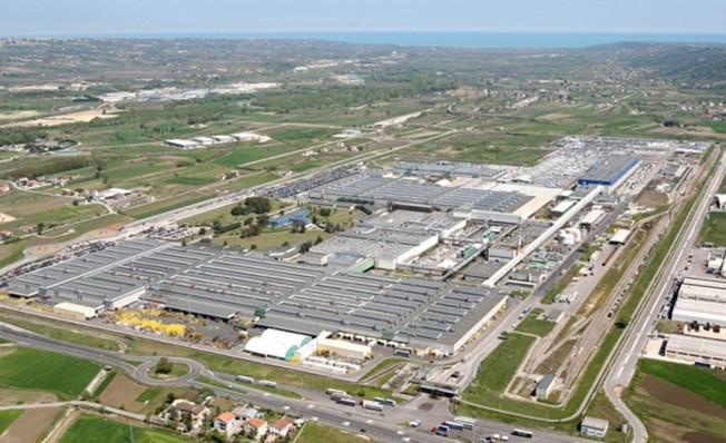 Fábrica de Sevel donde se producen vehículos comerciales ligeros