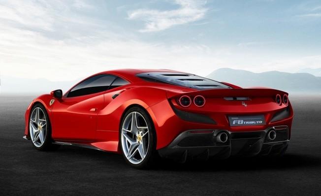 Ferrari F8 Tributo - posterior