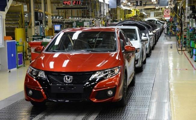 Producción de Honda en Swindon